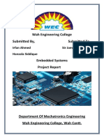report of Embedded System semester project