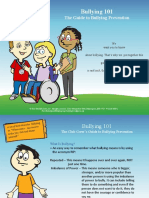 Anti-Bullying Campaign 2018 grades 4 -shs