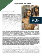 REFLEXIÓN SEGUNDA Y SEXTA PALABRA DE JESÚS EN LA CRUZ