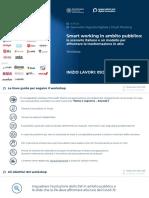 2020 Luglio - Webinar Smart working in ambito pubblico