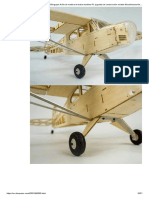 Nuevo Piper J3 Cub 1200mm Wingspan Avión de madera de balsa modelos RC juguetes de construcción modelo Woodiness_avión de madera_envío barato_airplane cardavión herramientas - AliExpress