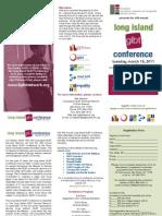 Long Island GLBT Conference Brochure