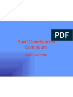 Sport Development Continuum Presentation Finished