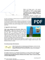 Gli studi fisici di Galileo