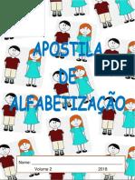 apostila alfabetização