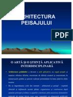 Arhitectura peisajului