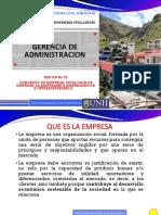 SESION N° 03 GERENCIA DE ADMINISTRACION