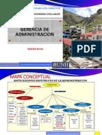SESION N° 02 GERENCIA DE ADMINISTRACION