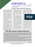 289 PLANTEL TÉCNICO PARA OBRAS