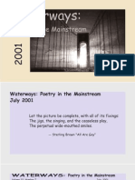 Waterways Poetry in the Mainstream Vol 22 no 7