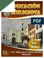 LIBRO TERCERA UNIDAD DIDACTICA RELIGION 3ERO SEC