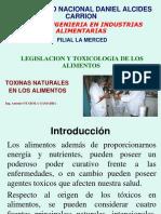 4. Toxicos Naturales en Alimentos