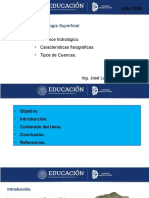 Tema I B.- Cuencas Hidrologicas, Balance Hidrologico, Tipos deCuencas