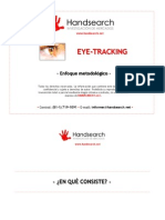 Eye Tracking - Hand Search - 2011