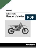 Manuel d'Entretient KX450FF 2015
