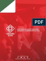 Brochure - Cátedra Tesis