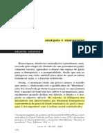 Eduardo Colombo - Anarquia e anarquismo