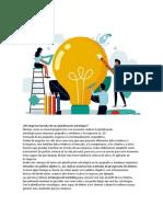 Las Pequeñas Empresas y La Planeación Estratégica