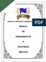 Livro de Doutrinas e Ensinamentos - SEMIB