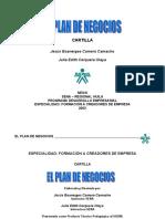 Cartilla 5- PLAN DE NEGOCIOS