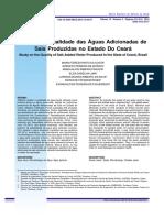 Estudo - Água Adicionada de Sais - Ceara