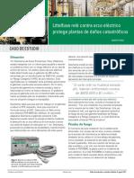 Littelfuse PGR8800 Arc Flash Caso Exito-sp