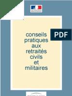 Conseils aux retraités militaires