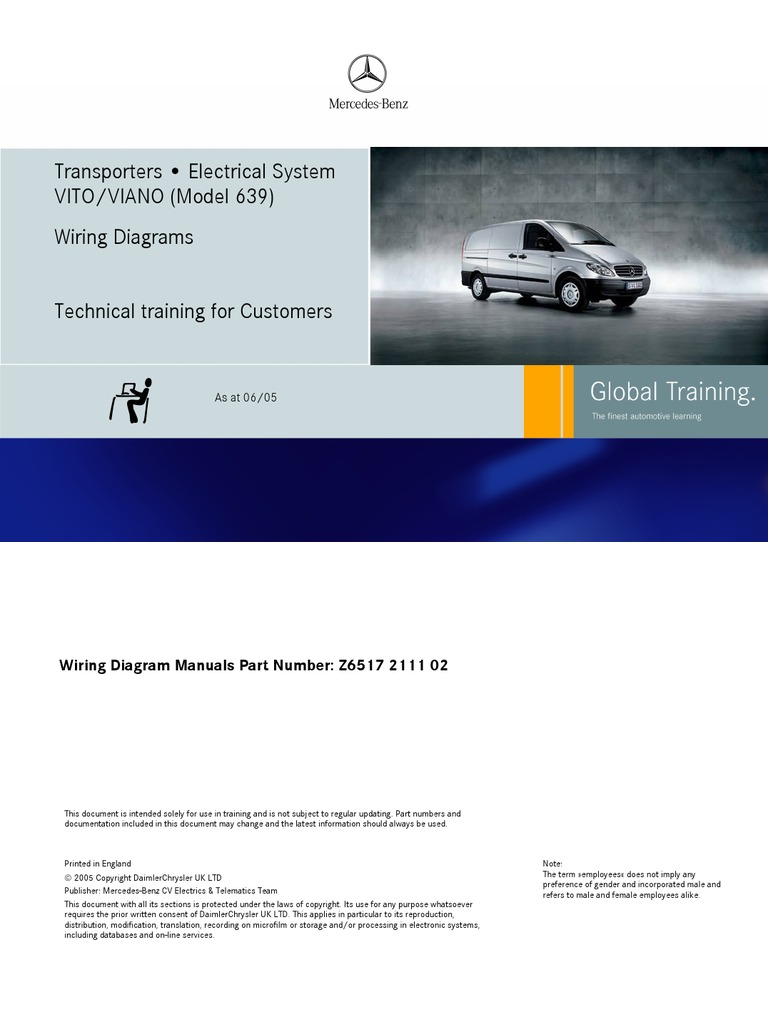 Wiring Diagram For Mercedes G Wagon Trusted Diagrams Benz C180 Vito Viano U2022 Nissan