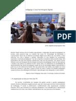 2020. O pedagogo e suas tecnologias digitais. Revista Escola Legal - SESP