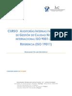 PROPUESTA TECNICA AUD. INTERNO ISO 900-2015