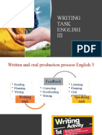 WRITING TASK ENGLISH 4