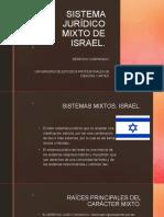SISTEMA JURÍDICO MIXTO DE ISRAEL, comparado..pptx