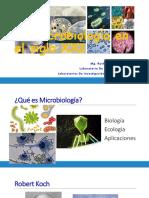 CLASE LA MICROBIOLOGÍA DEL SIGLO XXI