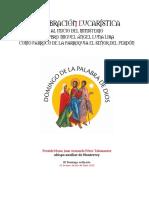 Inicio de Ministerio Párroco SEÑOR DEL PERDÓN Ene2020