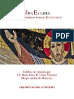 Pprimitivo Misa Exequial Feb2019