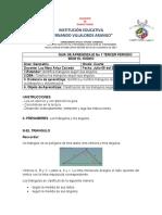 GUIA TALLER GEOMETRIA TRIANGULOS SEGUN SUS ANGULOS GRADO CUARTO SEDE EL RODEO LUZ MARY ARIZA CAICEDO LUNES 06 DE JULIO DE 2020