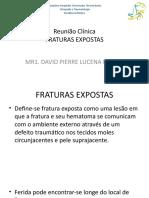 Faturas expostas Dr MR1 David
