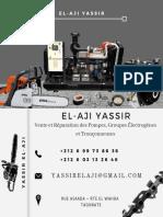 Carte visite Yassir