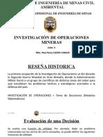 Sesion 1 (Toma de Decisiones) - Investigación de Operaciones