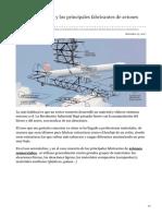 teoriadeconstruccion.net-El aluminio  litio y los principales fabricantes de aviones comerciales