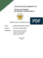INTRODUCCION GERENCIA SOCIAL UCT - GPS