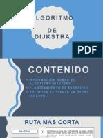 ALGORITMO DE DJIKSTRA