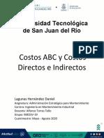 Costos ABC y Costos Directos e Indirectos
