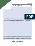Política de Infancia temprana en Chile.pdf