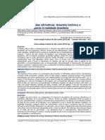 Políticas de ações afirmativas itinerário histórico e pontuações quanto à realidade brasileira