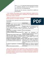 Pactos o acuerdo internacionales ante situaciones de emergencia nacional