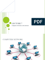 Lecture 5- Networks