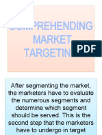 COMPREHENDING  MARKET TARGETING