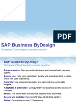 SAP ByD_Features
