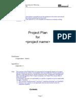 Project Plan wo. QA, Transition